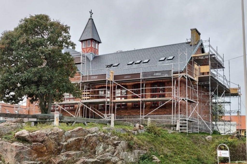Folkemødehuset – Det gamle bibliotek er ombygget til folkets hus