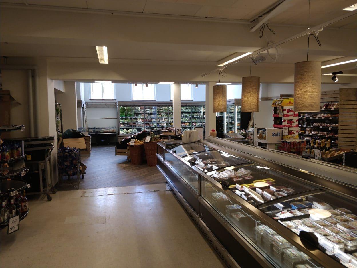 Svaneke brugs – udvidelse af butik
