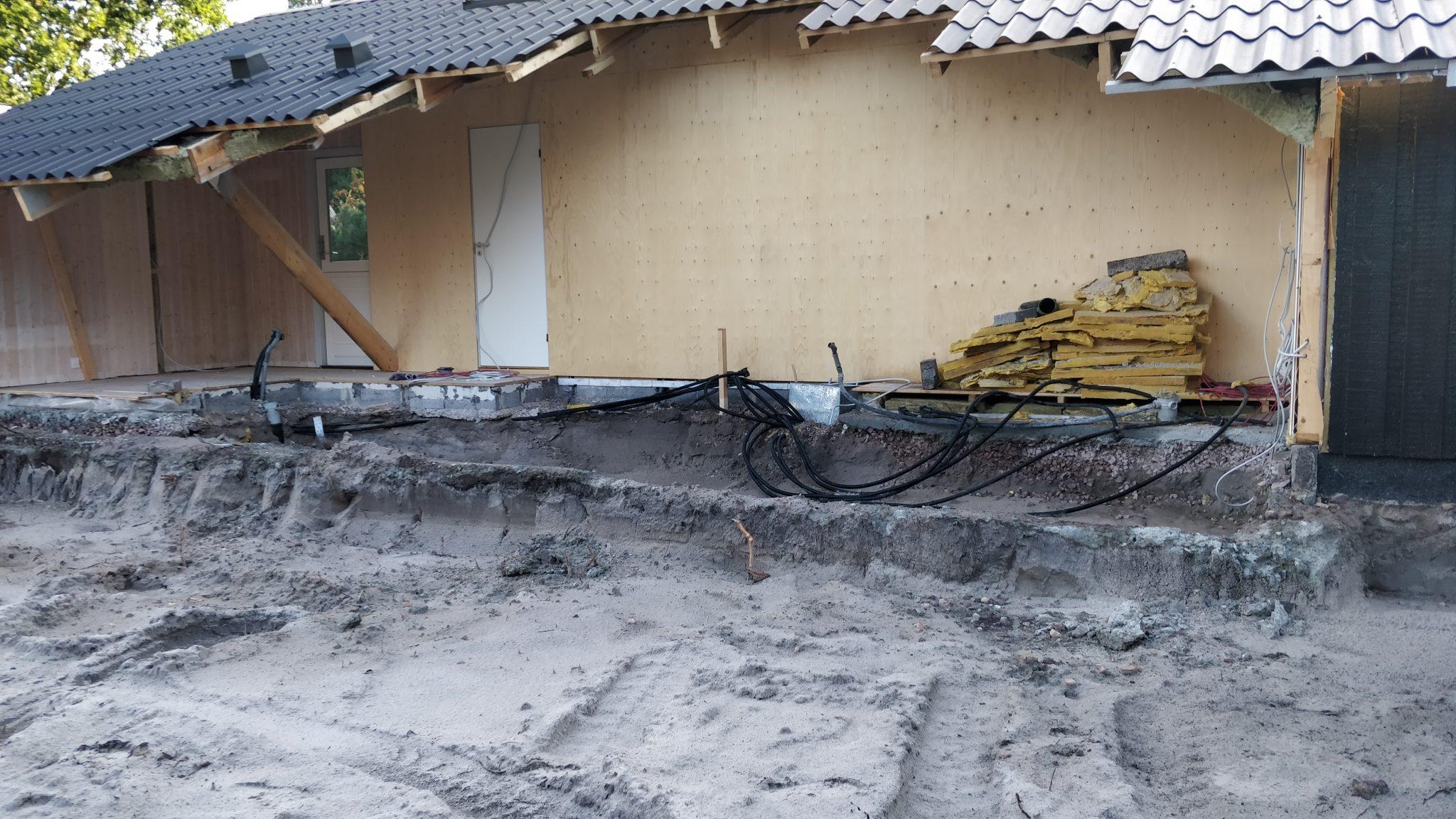 Tilbygning til sommerhus på Balka