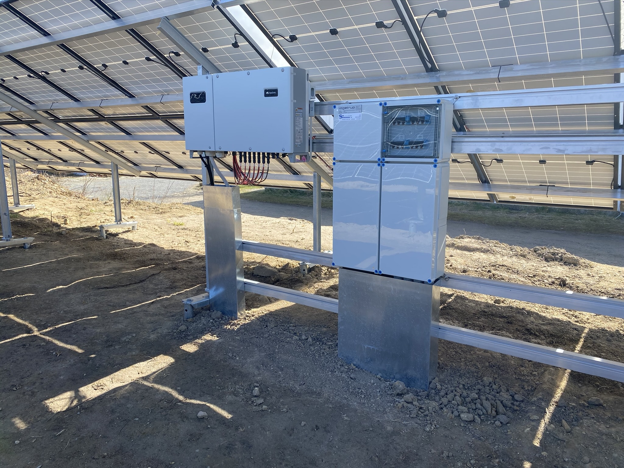 Solcelleanlæg hos TV 2