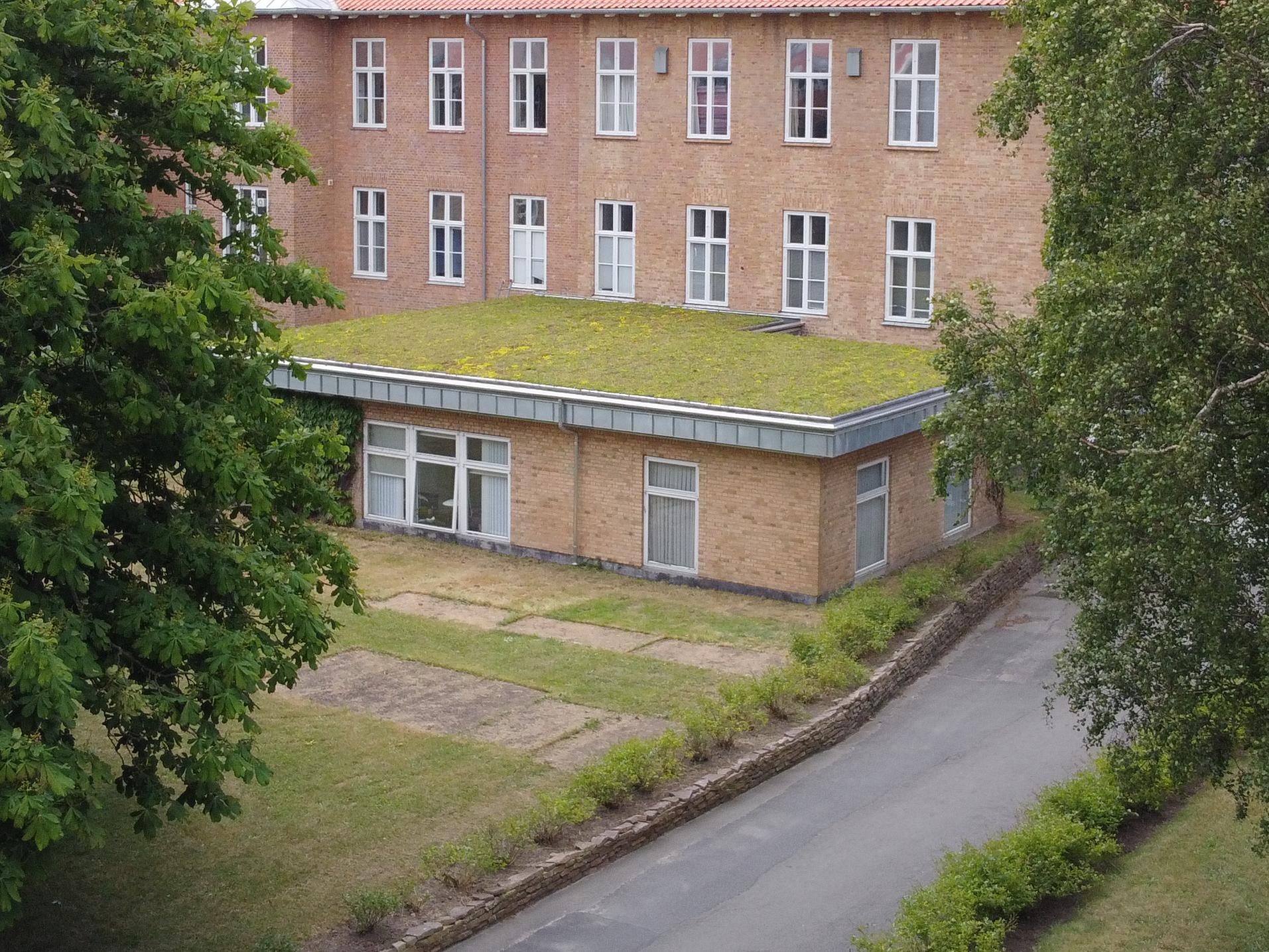 Tagrenovering på Bornholms Hospital