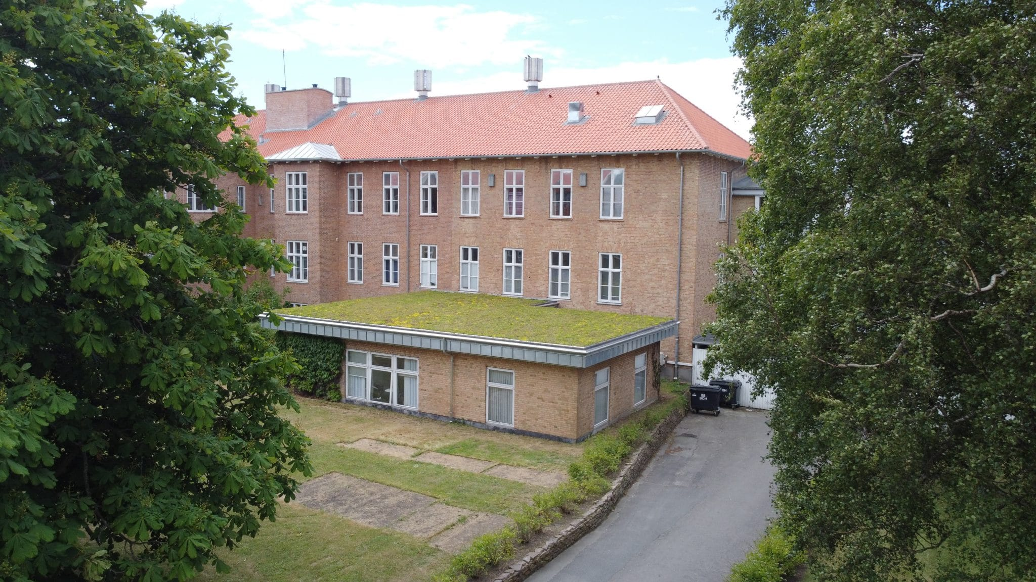 Tagrenovering på Bornholms Hospital
