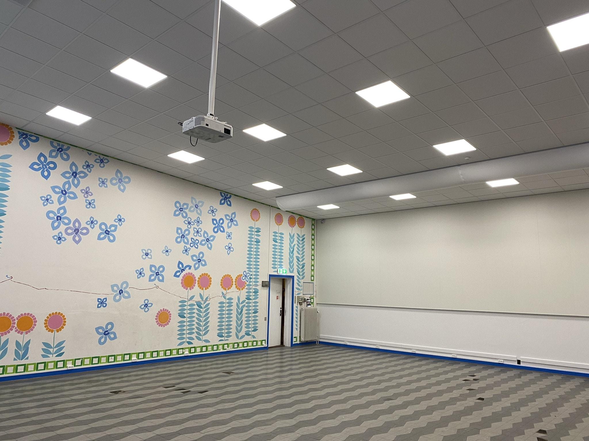 Paradisbakkeskolen – Ventilation i musik og gymnastiksal