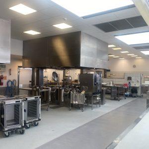 Køkkenet på Bornholms hospital er blevet renoveret