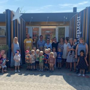 Bornholms nyeste børnehus har holdt gen-indvielse